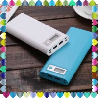 Promo DIY Power Bank Case USB Type C Dual Output & LCD 8x18650 - S8