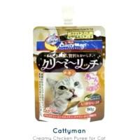 Snack Kucing Cat Liquid Cattyman Creamy Chiken 90gr