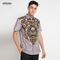 [Arthesian] Kemeja Batik Pria - Alvaro Batik Printing