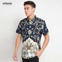 [Arthesian] Kemeja Batik Pria - Madava Batik Printing