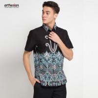 [Arthesian] Kemeja Batik Pria - Andhra Batik Printing