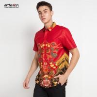 [Arthesian] Kemeja Batik Pria - Arion Batik Printing