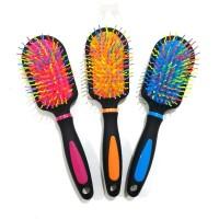 Sisir Kotak Rainbow / Menambah Volume Up Rambut Eyecandy Brush Warna