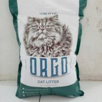 Pasir kucing Orgo 10kg (khusus gojek)
