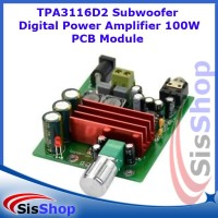 TPA3116D2 Subwoofer Digital Power Amplifier 100W PCB Module TPA3116