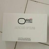 ORE skincare options ultrasonic