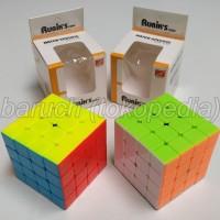 rubik 4x4x4 magic cube 4 layers 4x4 Jiehui stikerless tanpa stiker