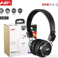 NIA Q8 Wireless Bluetooth Headphone Multifunctional Foldable Stereo