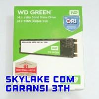 SSD 240GB WD GREEN M2 / M.2