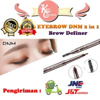 Eyebrow 2 in 1 DNM Drawing with Brush Auto Rotates pensil alis