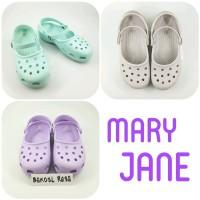 Sepatu Sandal Karet Crocs Wanita - Mary Jane