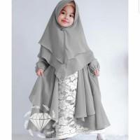 Adonia Syari Kid/Gamis Syari Anak/Baju Muslim Anak Perempuan/Maxi Dres