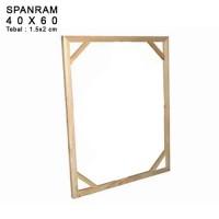 SPANRAM Frame Rangka Kayu 40x60 cm