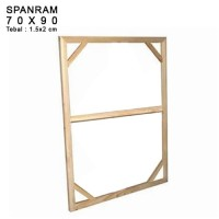 SPANRAM Frame Rangka Kayu 70x90 cm