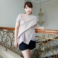 Atasan Cewek tangan pendek Blouse Casual Baju Wanita Terbaru AR.64