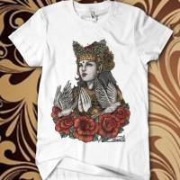 Baju Kaos Bali Gadis Penari