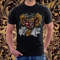 Baju Kaos Bali Barong Bangkung