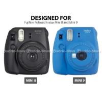 Fujifilm Kamera Instax Mini 9 Leather Bag Tas Case Map Edition