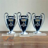 Plakat Piala Piagam Plakat Akrilik Tropi Trophy UK. 20cm x 10cm JP67