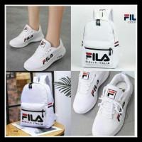 Harga new new 1 set fila tas ransel sepatu bahan | Pembandingharga.com