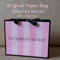 PROMO GAEESS ORIGINAL PAPER BAG VICTORIA'S SECRET UKURAN KECIL