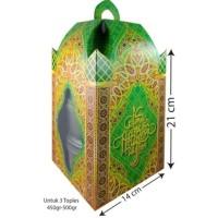 PROMO GAEESS READY BOX KARDUS DUS KUE LEBARAN IDUL FITRI MUAT 3 TOPLES