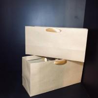 DIJUAL PAPER BAG TEMPAT OLEH OLEH BROWNIES BOLU / TAS KERTAS LUNCH BOX