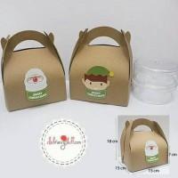 PROMO GAEESS GABLE BOX / SOUVENIR BOX / COOKIES /PAPER BAG MERRY