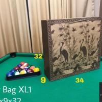 DIJUAL PAPERBAG PAPER BAG TAS KERTAS XL MOTIF 34X9X32 TAS BELANJA