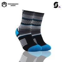 Kaos Kaki Olahraga Basket 'Anak' | Stayhoops Socks - SH Black Jr