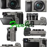 Harga exclusive sony alpha a6000 kit ilce 6000l 16 50mm camera mirrorless | Pembandingharga.com