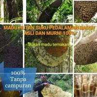 Harga terlaris madu hitam hutan suku baduy 100 asli dan murni   Pembandingharga.com