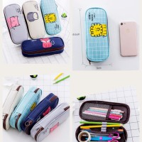 New Good Morning Cute Animal Pencil Case, Pencil Pouch, Kotak Pensil