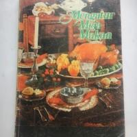 buku mengatur meja makan, buku bekas lawas klasik jadul 1977