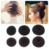 Hair Donut Bun Ring Shaper Styler Maker Black Blonde