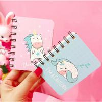Note Book Mini Unicorn Chubby& Pink Panther
