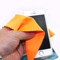 Harga flash sale kain bahan microfiber pembersih gadget lensa kamera | antitipu.com