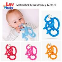 MINI - Matchstick Mini Monkey Teether Teething toy gigitan bayi