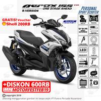 Yamaha AEROX 155-R Version - OTR BKS, CKR, DPK