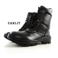 Sepatu Kerja Lapangan PDL WAN Carlit Warna Hitam Bagus Dan Awet e4cdca8963