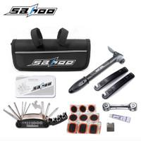 Alat Repair Sepeda 1 Set Toolkit Bike SAHOO Pompa Tambal Ban Kunci dll