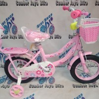 SEPEDA MINI 12 INCH TANGO HELLO KITTY NEW