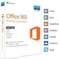 MICROSOFT Office 365 Personal 1 Year Original Box Sealed Resmi