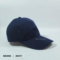 topi polos orang dewasa