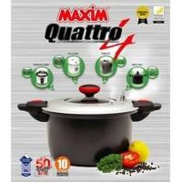 Maxim Quattro 24cm / 6L Panci Presto 4 in 1 Pressure Cooker Oven Fryer