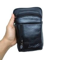 tas selempang & pinggang asli kulit Clin ford STA2395 black