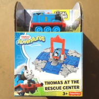 THOMAS & FRIENDS CUBE STATION - THOMAS AT THE RESCUE CENTER