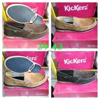 Murah sepatu casual Kickers suede 11572186d5