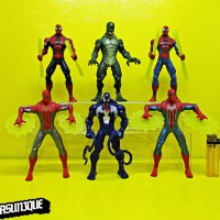 Action Figure Spiderman isi 6 SP1912