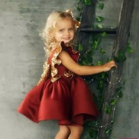 Dress pesta anak/dress import/gaun pesta anak/dress ulang tahun/gaun m